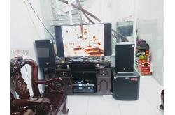 Lắp đặt dàn karaoke gia đình cô Hồng tại TP HCM (RCF CMAX 4112, VM620A, K9800 New, TS315Sub...)