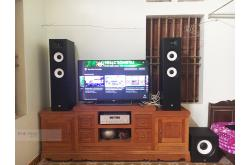 Lắp đặt dàn nghe nhạc cho anh Tuấn tại Bắc Giang (JBL Stage A190, Yamaha R-N803, JBL A120P)