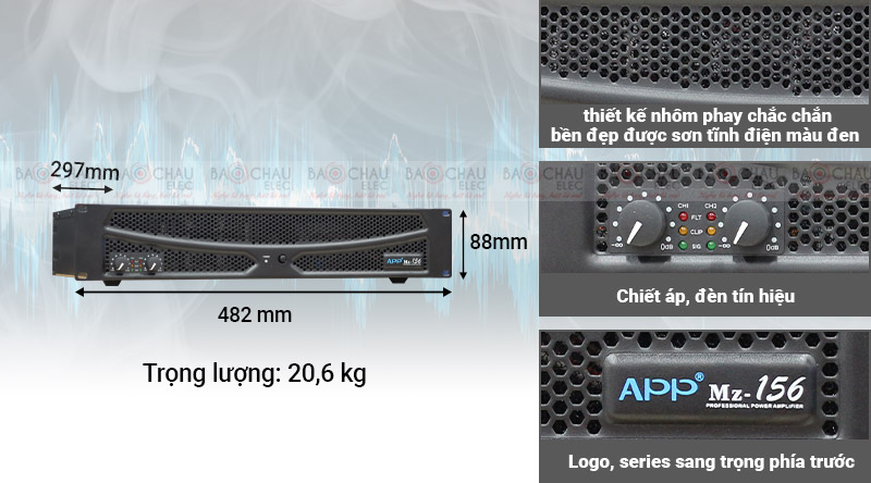 Cục đẩy công suất APP MZ-156