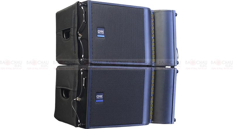 Dàn âm thanh Line Array Actine (Liền công suất) DMX 04