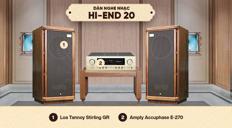 Dàn nghe nhạc Hi-End 20
