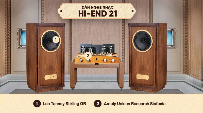 Dàn nghe nhạc Hi-End 21