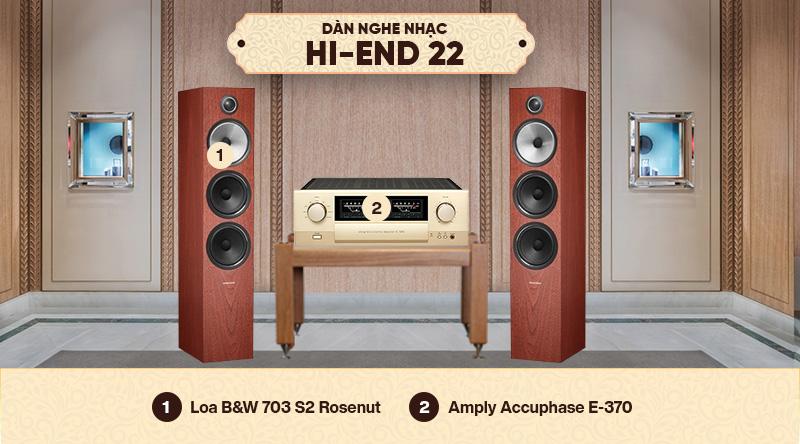 Dàn nghe nhạc HI-End 22