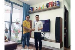 Lắp đặt dàn karaoke – nghe nhạc gia đình anh Tuyến tại Thanh Hóa (Jamo C97II, Bksound DKA5500)