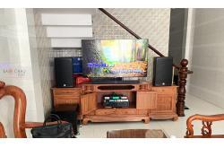 Lắp đặt dàn karaoke gia đình anh Công tại TP HCM (Alto AT1000, VM420A, X6 Luxury, SW512B, UGX12)