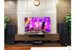 Lắp đặt dàn karaoke gia đình anh Cường tại Hà Nội (BIK BSP 412, VM620A, X6 Luxury, SW612C, BCE U900)