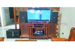 Lắp đặt dàn karaoke gia đình anh Dũng tại Hà Nội (BIK BSP 412, VM630A, BPR8500, BJ-W66 Plus, BJ-U550)