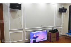Lắp đặt dàn karaoke gia đình anh Hà tại Hà Nội (BIK BJ-S668, VM420A, DSP9000 Plus, U900 Plus X)