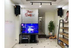 Lắp đặt dàn karaoke gia đình anh Linh tại Hà Nội (JBL XS12, VM620A, K9800 New, SW815, JBL VM300)