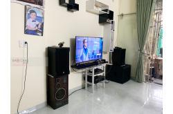 Lắp đặt dàn karaoke gia đình anh Lý tại Bình Dương (RCF CMAX 4112, CPD4800, BPR8500, JBL 618S...)
