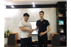Lắp đặt dàn karaoke gia đình anh Phong tại Hà Nội (Domus DK612, VM820A, BPR6000, SW612C, UGX12 Gold)