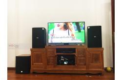 Lắp đặt dàn karaoke gia đình anh Quyết tại Bắc Ninh (BIK BSP 412, BKSound DKA 8500, BKSound SW612C)