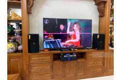 Lắp đặt dàn karaoke gia đình anh Thắng tại Hà Nội (JBL XS08, Crown Xli2500, X6 Luxury, BJ-U500)