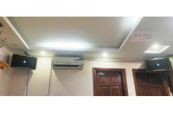 Lắp đặt dàn karaoke gia đình anh Thành tại Hà Nội (JBL Pasion 10, Lenovo K250, SW512-B)