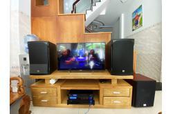 Lắp đặt dàn karaoke gia đình anh Toàn tại TP HCM (RCF EMAX 3112, VM620A, BPR8500, SW612C, BJ-U550)