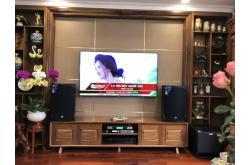 Lắp đặt dàn karaoke gia đình anh Trụ tại Hà Nội (RCF EMAX 3112, VM620A, X6 Luxury, TX212Sub, BCE UGX12)