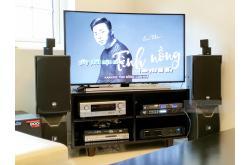 Lắp đặt dàn karaoke gia đình anh Tường tại TP HCM (RCF EMAX 3110, VM620A, Alto AK600, Alto TX212S)