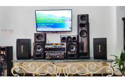 Lắp đặt dàn karaoke gia đình chị Sương tại TP HCM (BIK BJ-S668, VM420A, BKSound KX-6, BCE U900Plus)