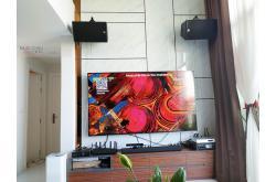 Lắp đặt dàn karaoke gia đình chị Thủy tại TP HCM (Alto AT1000, BKSound DKA8500, VietKTV HD 4TB Plus)