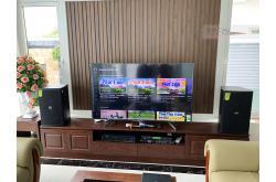 Lắp đặt dàn karaoke gia đình anh Trường tại Thanh Hóa (Domus DP6100, VM620A, DSP9000 Plus, U900 Plus X)