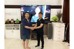 Lắp đặt dàn nghe nhạc cho gia đình anh Huy tại Hà Nội (B&W 603 S2, Denon PMA 1600NE)
