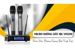Micro không dây JBL VM200: Đem đến những giọng hát vượt trội