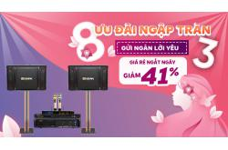 Ưu đãi Dàn karaoke BIK tháng 3, thả ga mua sắm tiết kiệm đến 41%