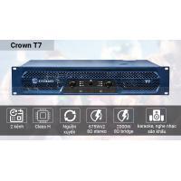 Cục đẩy công suất Crown T7