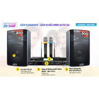 Dàn karaoke - Sân khấu Mini Alto 23
