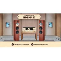 Dàn nghe nhạc HI-End 22 (B&W 703 S2 Rosenut + Accuphase E-370)