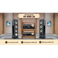 Dàn nghe nhạc Hi-End 26 (Foca 948 + Denon PMA A110)