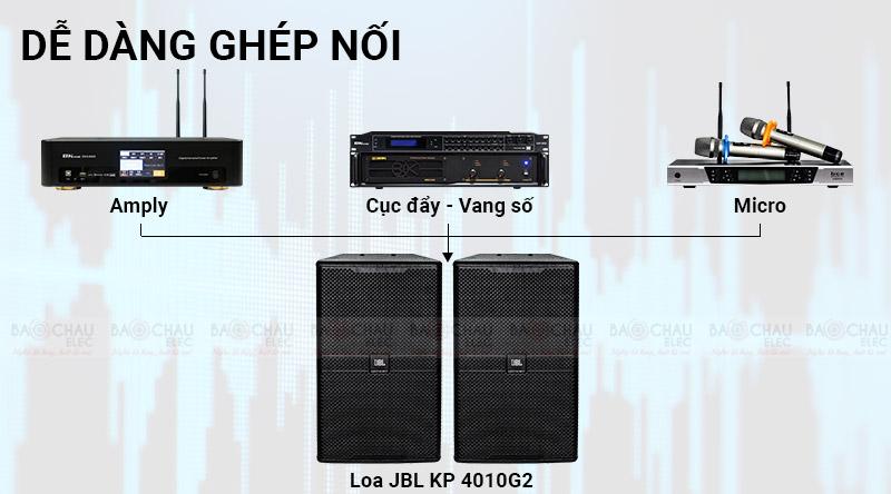 Loa JBL KP4010G2 (full bass 25- model mới 2021)