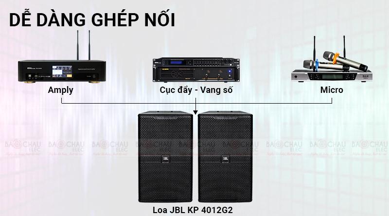 Loa JBL KP4012G2 (full bass 30- model mới 2021)