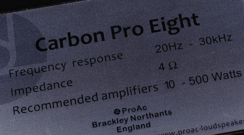Loa ProAc Carbon Pro 8