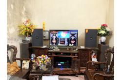 Lắp đặt dàn karaoke gia đình anh Giáp tại Hà Nội (Domus DK612, APP MZ-66, X5 Plus, U900 Plus X)