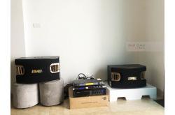 Lắp đặt dàn karaoke gia đình anh Hiệp tại Hà Nội (BMB CSV 900SE, VM840A, JBL KX180, BCE VIP3000)