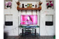 Lắp đặt dàn karaoke gia đình anh Nath tại Vĩnh Long (BIK BQ-S63, VM420A, BPR-6000, BCE U900 Plus X)