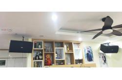 Lắp đặt dàn karaoke gia đình anh Quang tại Hà Nội (BIK BSP410, VM620A, Alto AK600, BIK BJ-U550)