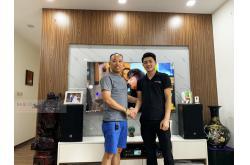 Lắp đặt dàn karaoke gia đình anh Thuận tại Hà Nội (RCF EMAX 3110, BKSound DKA 8500, Klipsch R100SW)
