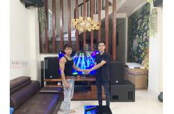Lắp đặt dàn karaoke gia đình anh Trường tại Hà Nội (Alto AT2000, BIK VM640A)
