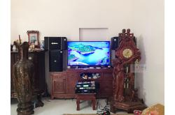 Lắp đặt dàn karaoke gia đình anh Tuyên tại Bắc Ninh (BIK BSP412, BJ-S968, TD8004, X6 Luxury, UGX12)