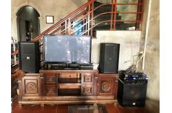 Lắp đặt dàn karaoke gia đình anh Việt tại Vĩnh Phúc (BIK BSP 412, VM640A, KX180, SW715, BIK BJ-U550)