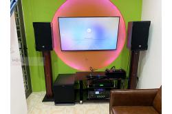 Lắp đặt dàn karaoke gia đình anh Vinh tại Hà Nội (RCF EMAX 3112, TX800Q, K9800 New, SPL120, JBL VM300)