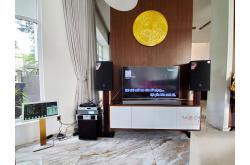 Lắp đặt dàn karaoke gia đình anh Vũ tại Cần Thơ (JBL MTS12, Famousound 7208, AAP K9900II, SPL120,...)