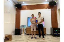 Lắp đặt dàn karaoke gia đình chị Lan tại Hà Nội (Domus DP6100, TD8004, DK 6000Pro, SW815, UGX12...)