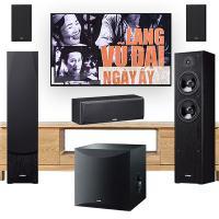 Bộ loa 5.1 Yamaha xem phim, nghe nhạc
