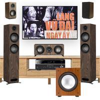Dàn âm thanh 5.1 xem phim, nghe nhạc BC-XPNN26 (Jamo S807+Yamaha RX-V485+Jamo J12)
