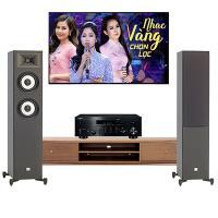 Dàn nghe nhạc 2 kênh Stereo NN32(JBL STAGE A180+ Yamaha R N803)