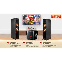 Dàn nghe nhạc cao cấp 2 kênh Stereo NN38 (Klipsch 8000F+Denon 2500NE+Yamaha SW300)