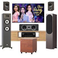 Dàn nghe nhạc Jamo 03 (Jamo S426 HCS3+Denon AVR X1600H)
